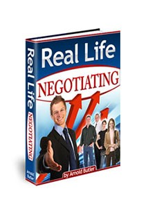 Real Life Negotiating Book Cover