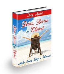 Relax Revive and Thrive Book Cover