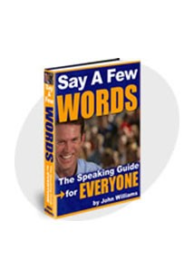 Say A Few Words Book Cover