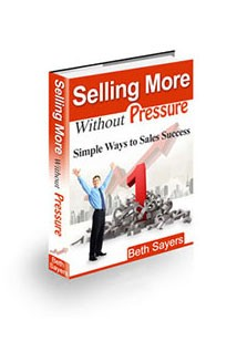 Selling More Without Pressure Book Cover