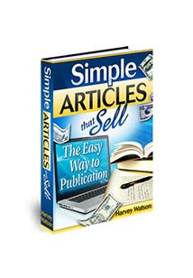 Book cover for simple articles that sell