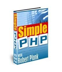 Simple PHP with Robert Plank Book Cover