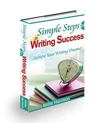 Book cover for simple steps to writing success