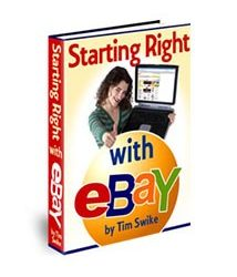 Starting Right With eBay Book Cover