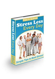 Stress Less Every Day Book Cover