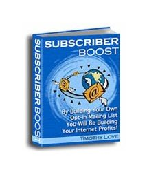 Subscriber Boost Book Cover