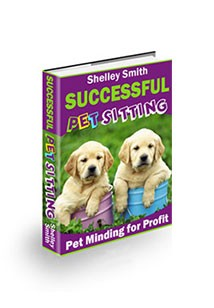 Successful Pet Sitting Book Cover