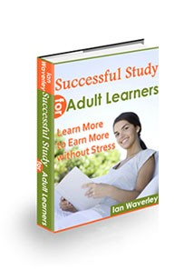 Successful Study for Adult Learners Book Cover