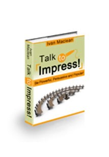 Talk to Impress Book Cover