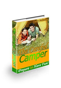 Book cover for the careful camper