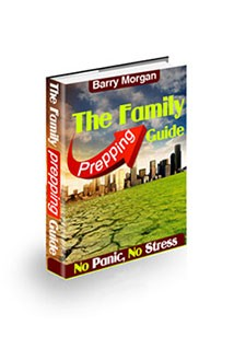 The Family Prepping Guide Book Cover
