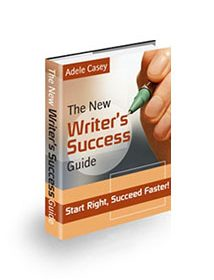 Book cover for New writers success guide