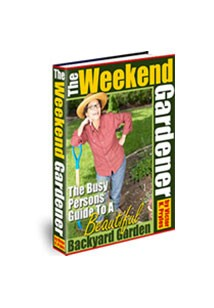 The Weekend Gardener Book Cover