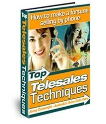 Book cover for top telesales techniques