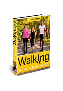 Book cover for walking for fun and better health