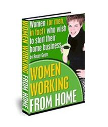 Women working from home book cover