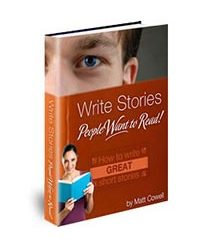 Book cover for write stories people want to read