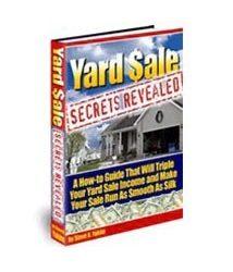 Yard Sale Secrets Revealed Book Cover