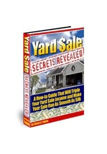 Yard Sale Secrets Revealed Book Cover