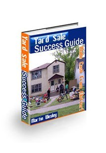 Yard Sale Success Guide Book Cover