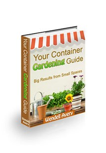 Your Container Gardening Guide Book Cover