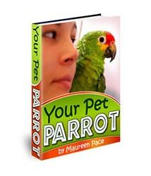 Your Pet Parrot Book Cover