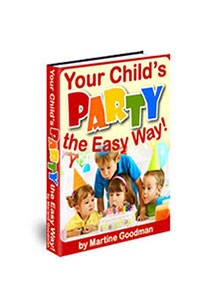 Your Child's Party The Easy Way Book Cover